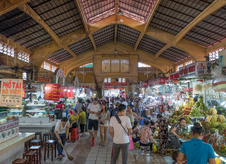 One portion of Ben Thanh market. A wonderful-crazy place where you should never make your intention of purchasing obvious