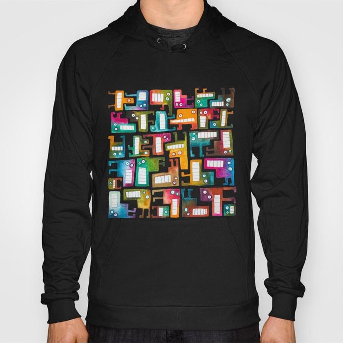 Tetris Monsters Hoodie