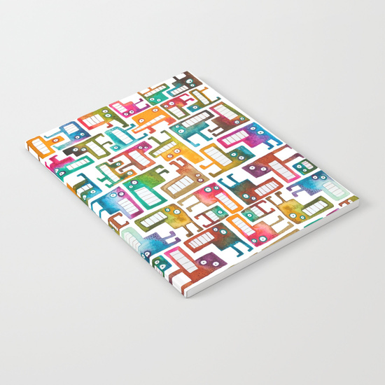 Tetris Monster Notebook
