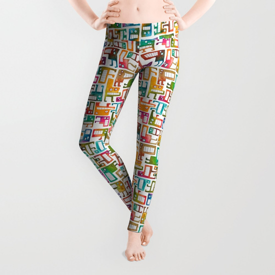Tetris Monsters Leggings