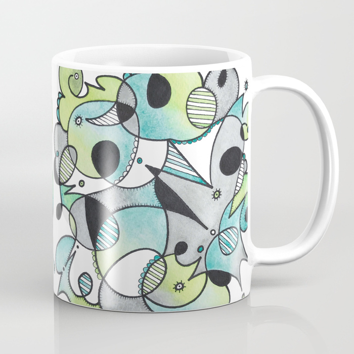 Abstract Critters Mug
