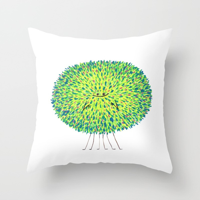 Poofy Lazlo Throw Pillow