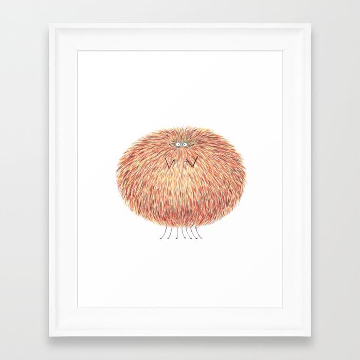 poofy-marcel-cozyreff-framed-prints.jpg