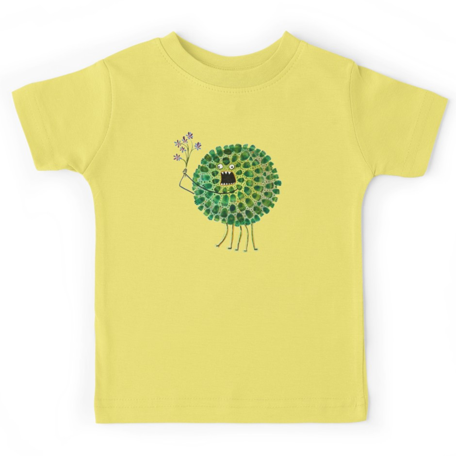 Poofy Plactus Kids T-shirt