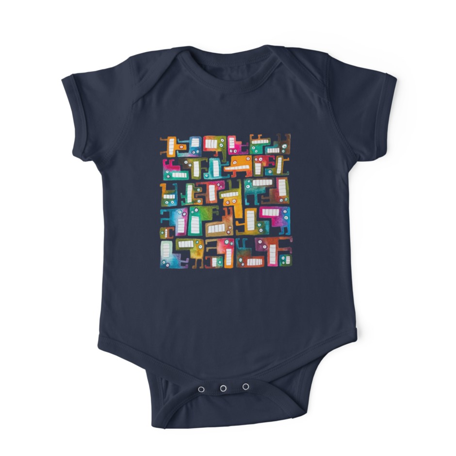 Tetris monster onsie