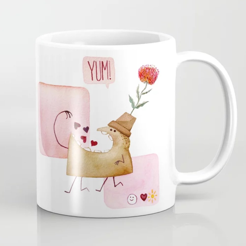 Underbite Valentine Mug