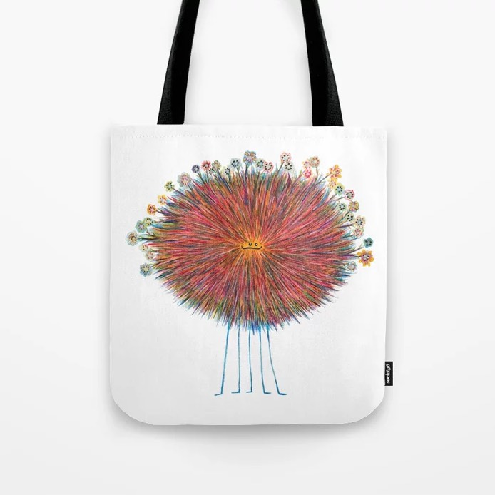 Poofy Frizzlemuff Tote