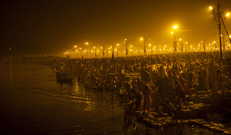 Kumbh Mela-night