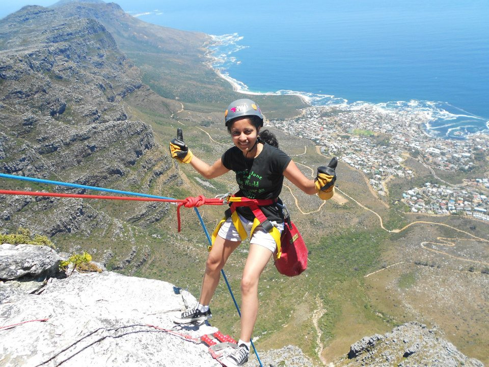 Abseil Africa – Abseiling – Going down the Table Mountain