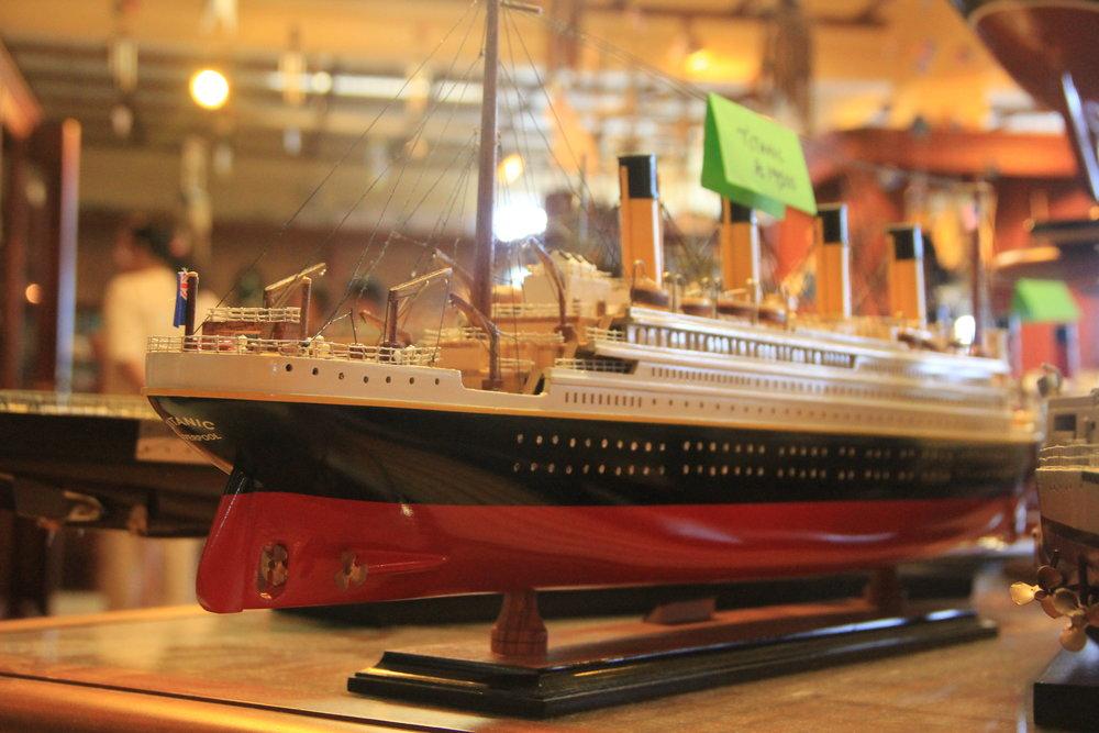 Titanic Miniature