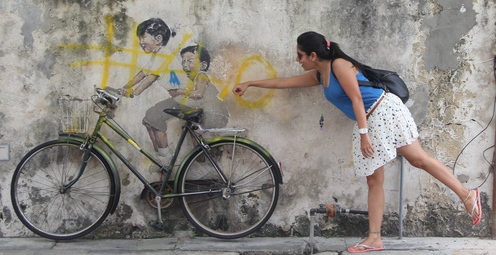 Children on a Bicycle -Whoever said chasing kids was an easy task,probably never chased a kid.