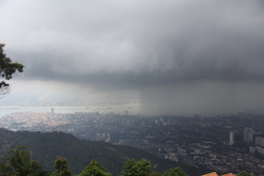 View of Penang City from Penang Hill
