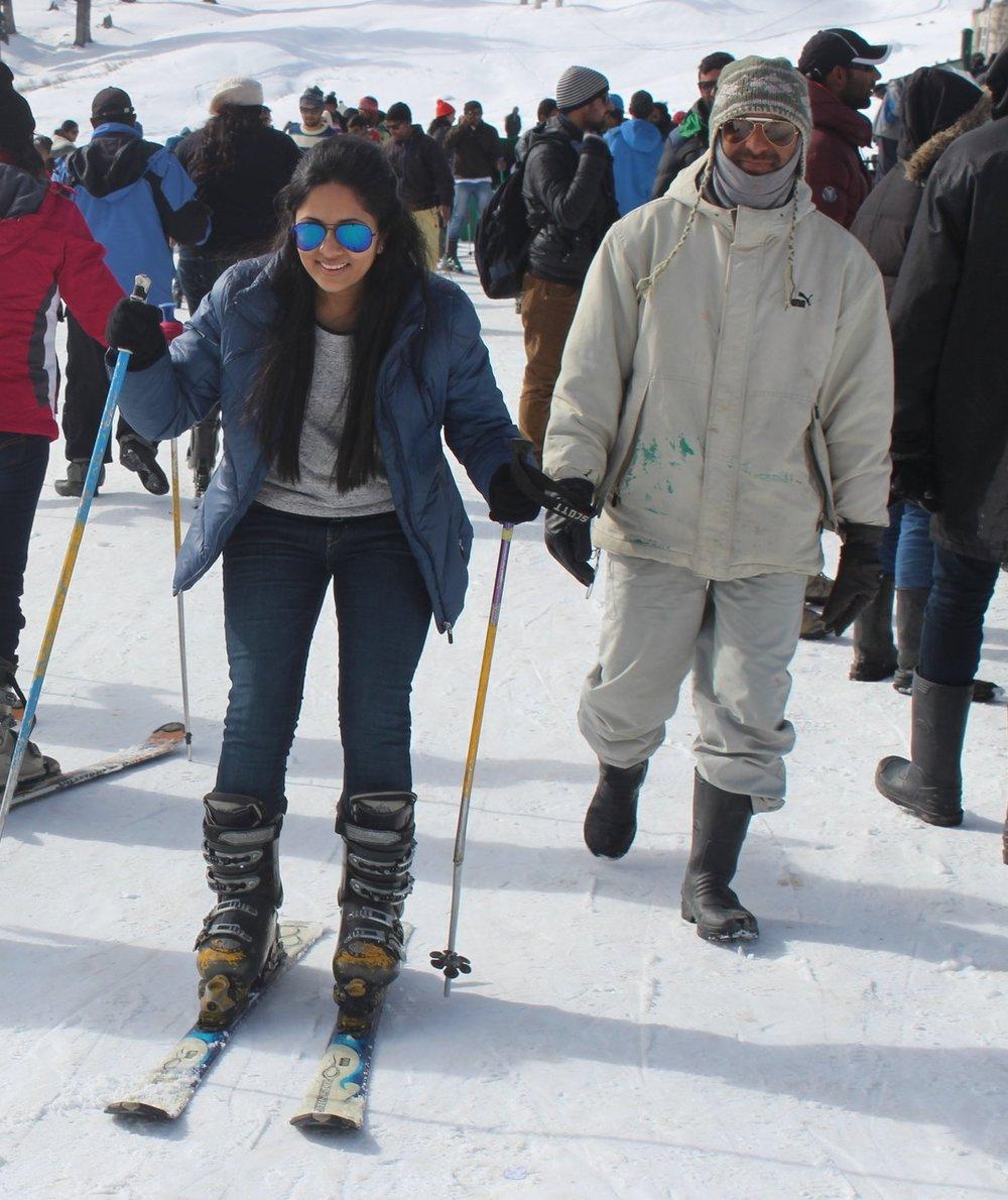 Skiing Gulmarg