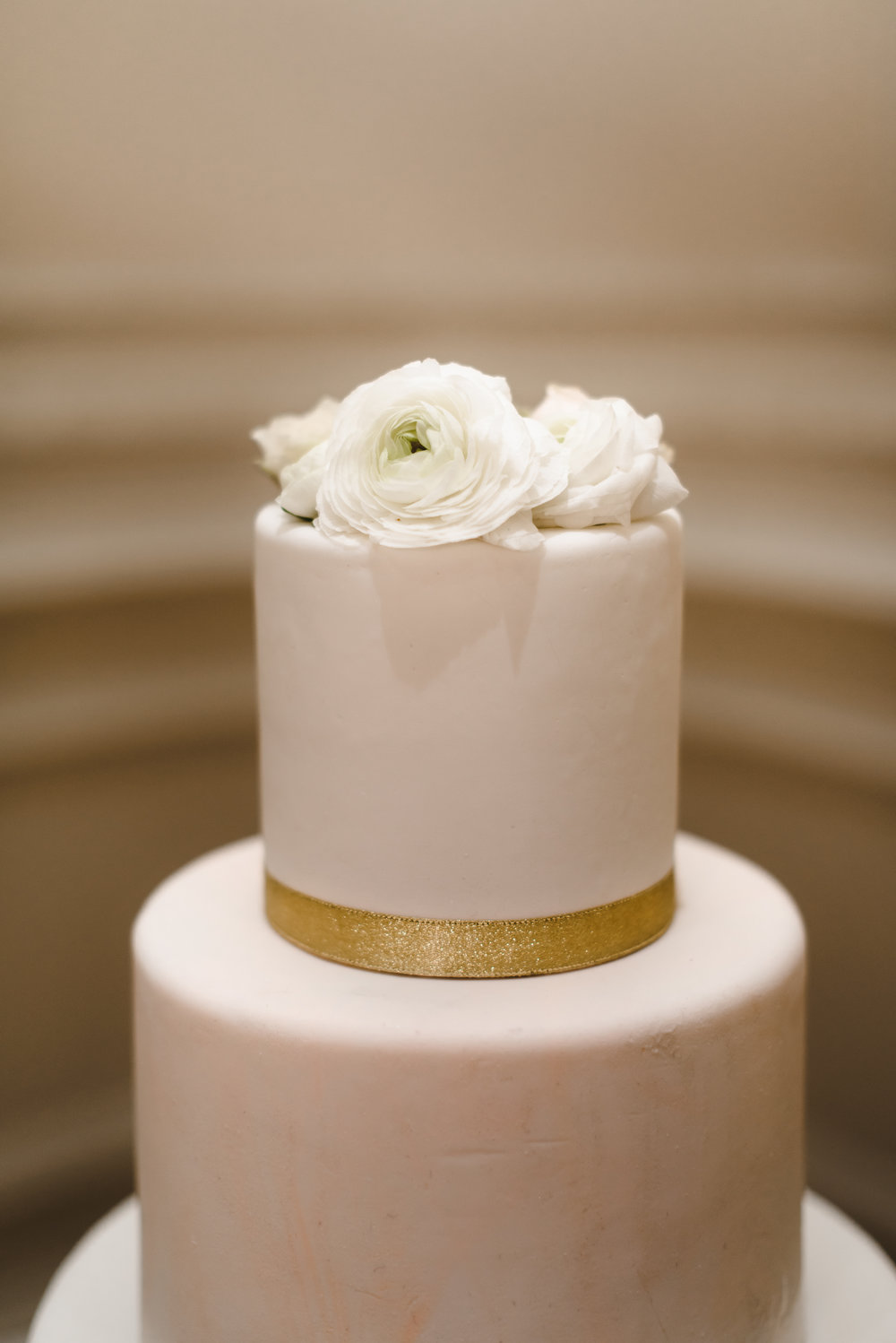 simple blush and white wedding cake #lrqcfloral #cakeflorals.jpg
