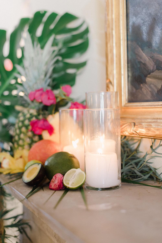 mangos limes pineapples raspberries avocados used for a tropical wedding.jpg