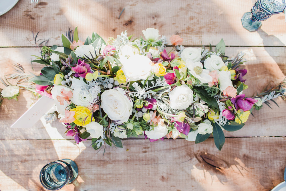 yellow, purple and white flowers for a summer wedding.jpg