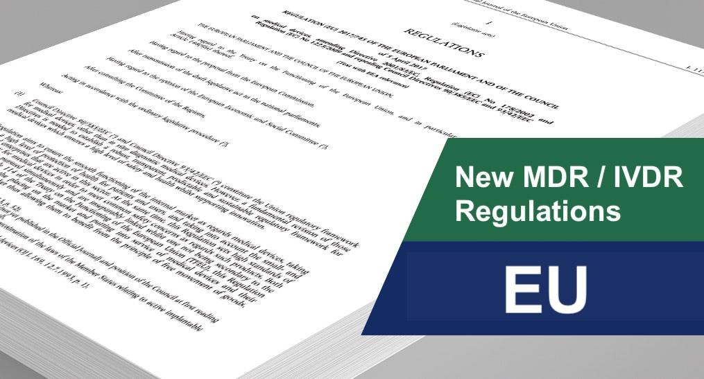 EU new Medical Device Regulation - MDR 2017/745