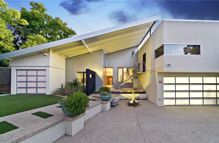 After:  Claremont property modernised after a complete renovation and transformation.