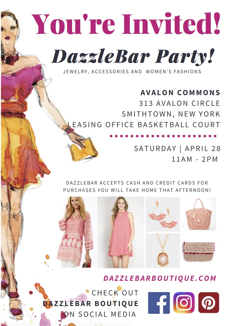 Springtime at DazzleBar! - With the weather FINALLY warming up and it feeling a bit like Spring (it's about time!), come visit DazzleBar at Avalon Commons to get your wardrobe on the same page!