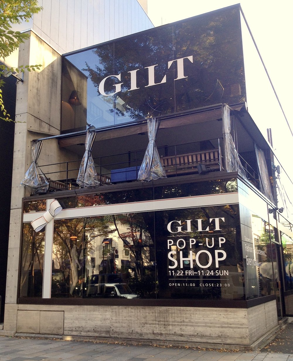 Guilt Pop-up Store - produced by H3O