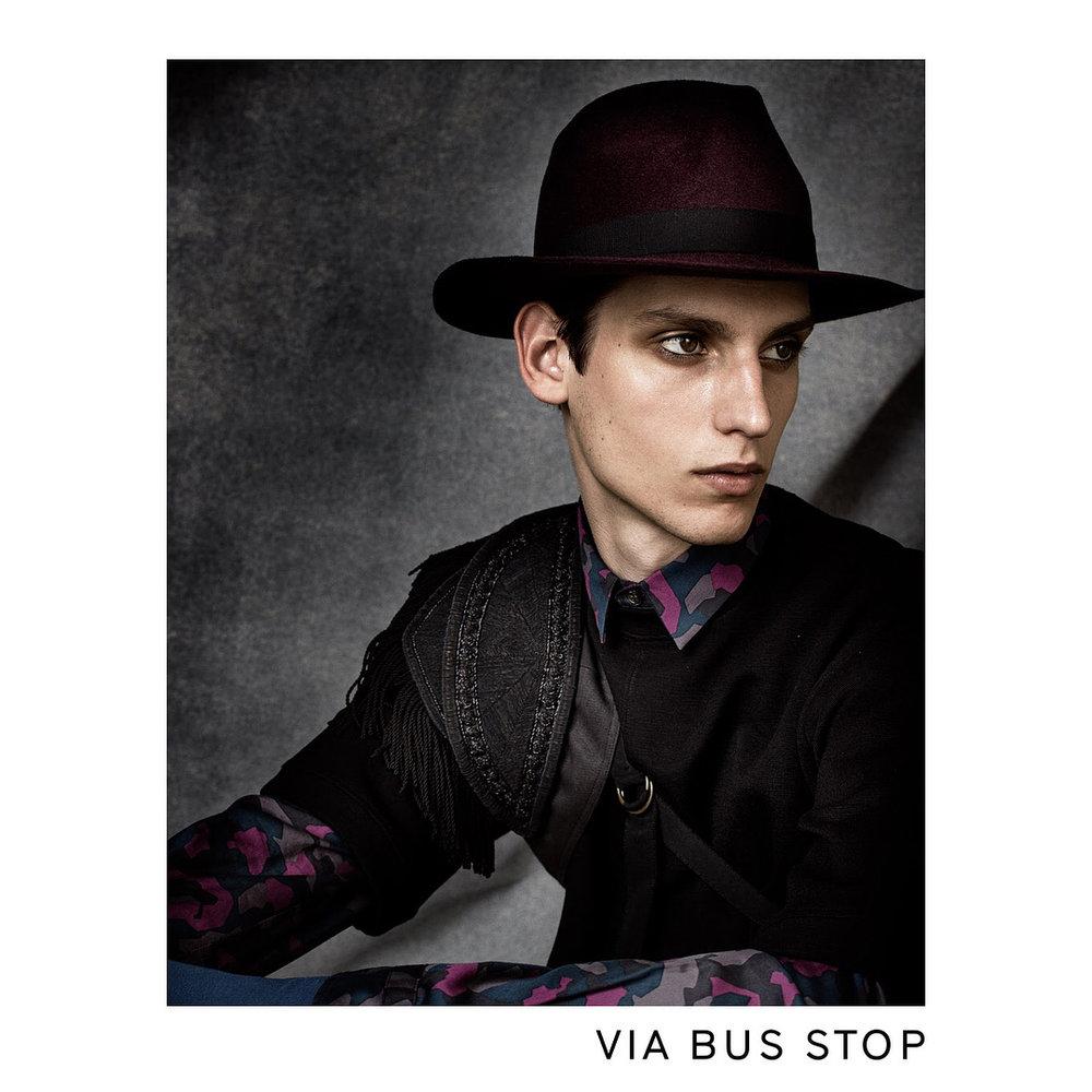 VIA BUS STOP AW17 Campaign