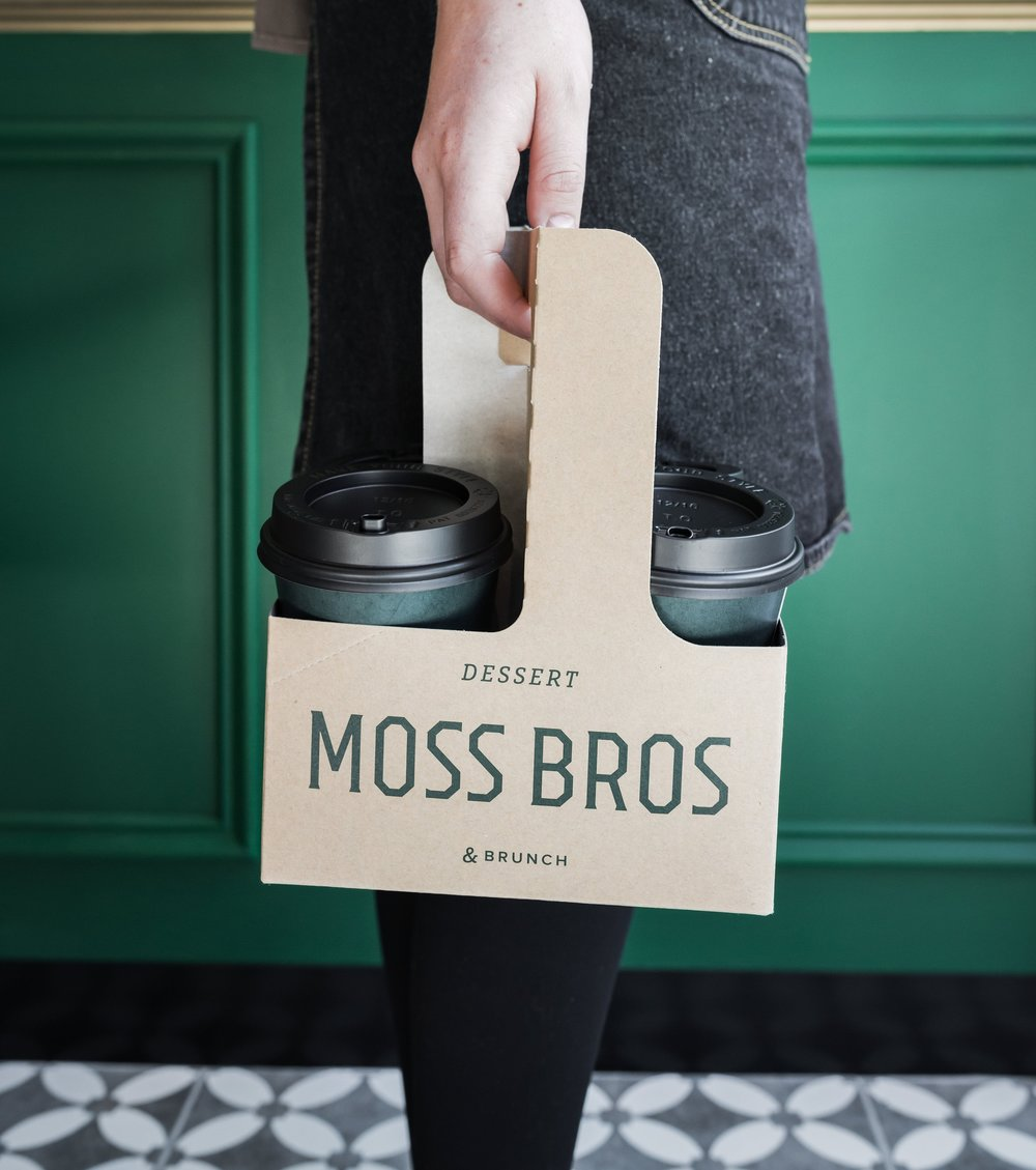 MOSS BROS  Interior Design, Branding