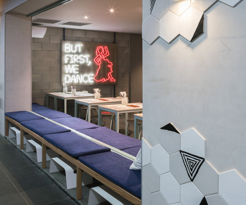 COMUNA CANTINA  Interior Design, Branding