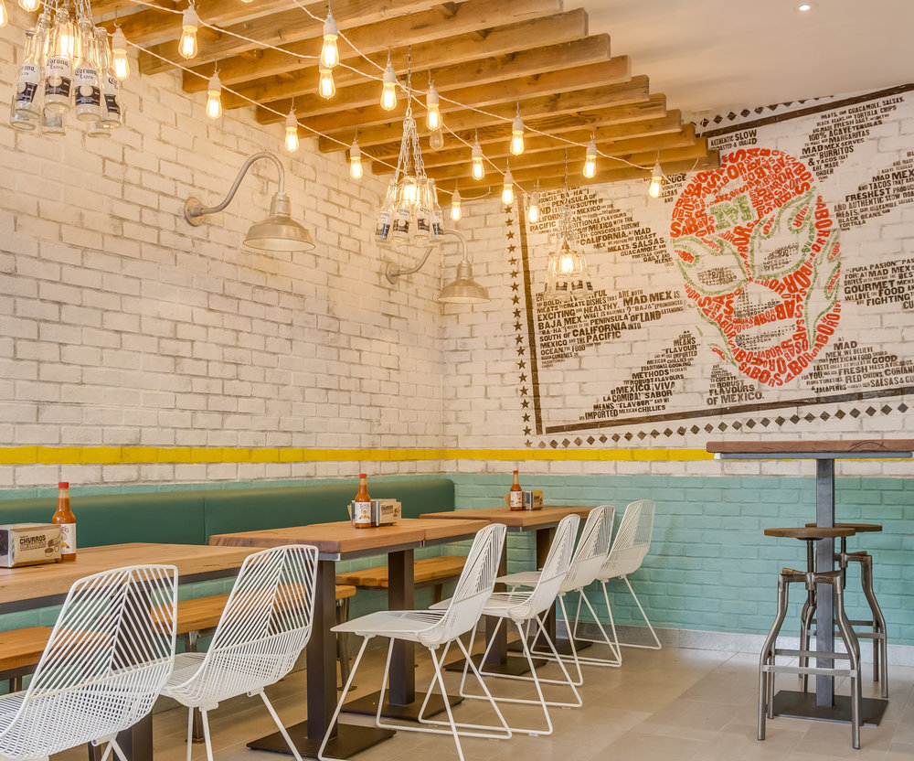 MAD MEX  Interior Design, Roll Out Strategy