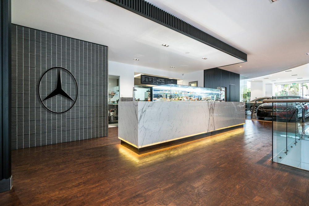 Mercedes benz interior design