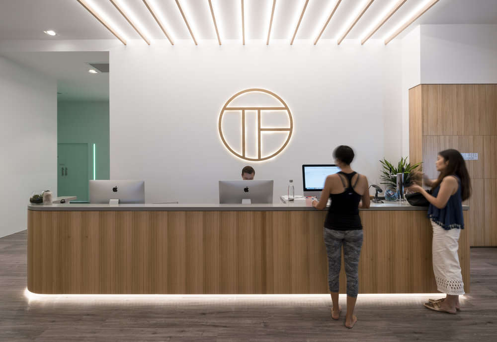 total fusion garden city   interior design, branding
