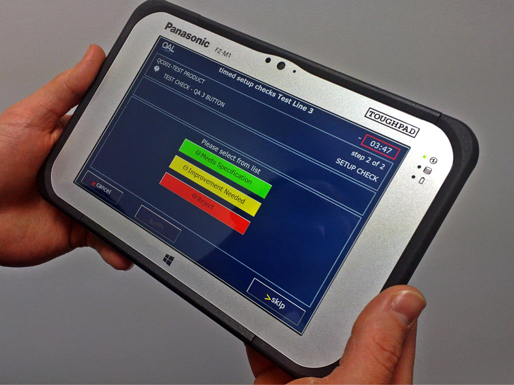OAL Autocoding Handheld Tablet