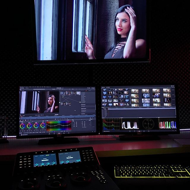 I am not a colorgrader but I love to experiment. Working on a music video, really like the @blackmagicnewsofficial Mini Panels, make using Davinci easier and convenient. . What Color Grading System do you use? . . . #4k #filmmaker #filmschool #grading #coloring #colorist #filmphotography #filmmaking #davinci #blackmagicdesign #dop #director #cinemagrapher #cinematography #cinema #sony #canon #dell #studio #filmstudio #filmup