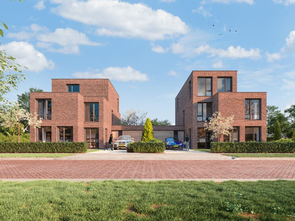 Royaal 5 - Bouwnummer 12 (links) en bouwnummer 13 (rechts)