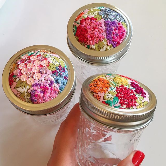 So many cute new trinket jars in store! Perfect for your special jewels 💎 , sewing kits ✂️ storage in the kitchen 🍴or whatever you wish jellyfish! We're in love! 💕🌈🌷