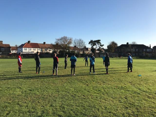 Saturday morning training