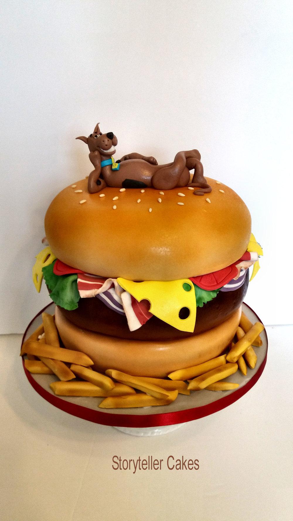 Scooby Doo Burger Cake1.jpg