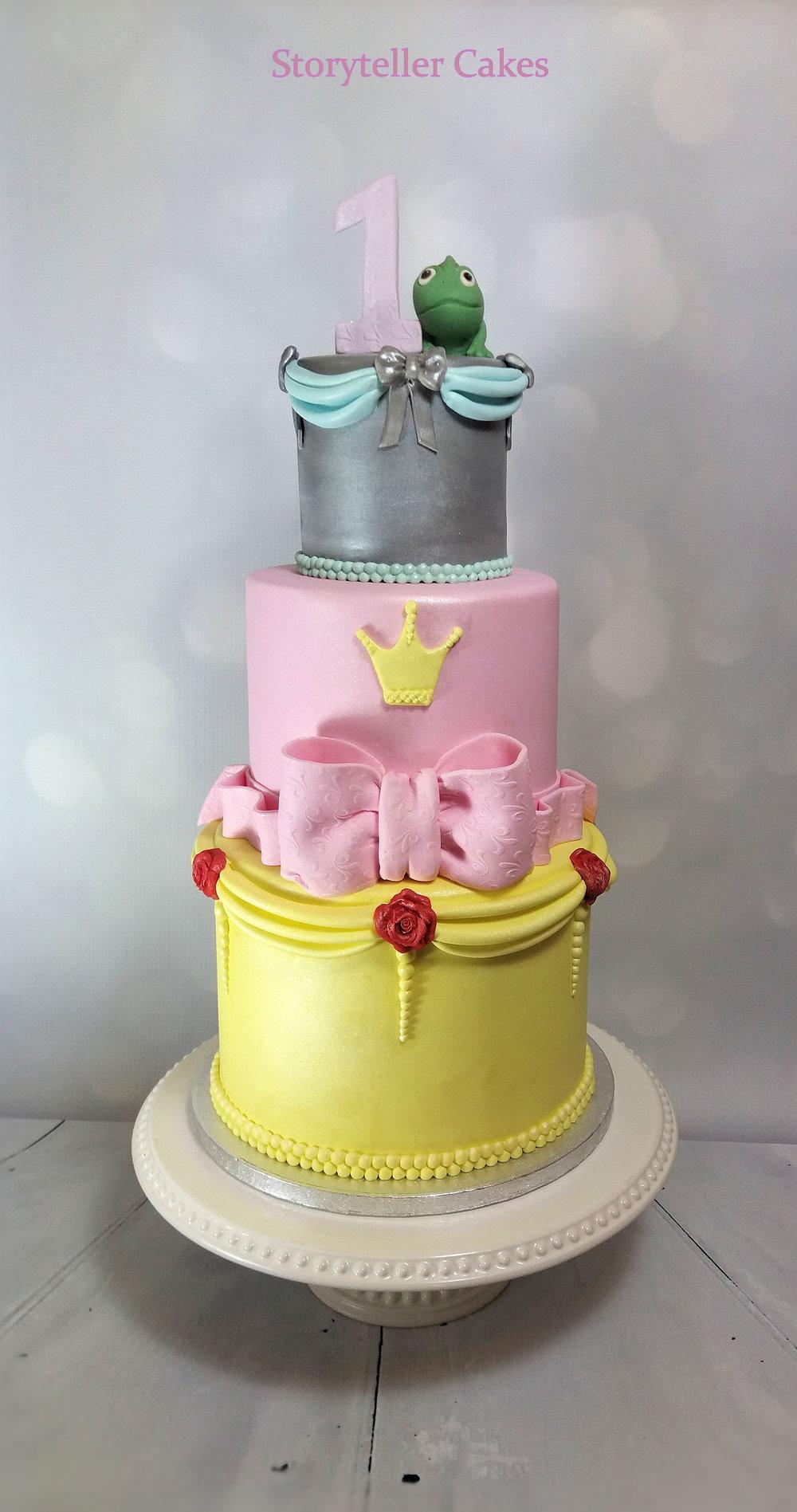 Childrens Birthday Cakes Girls Storyteller Cakes