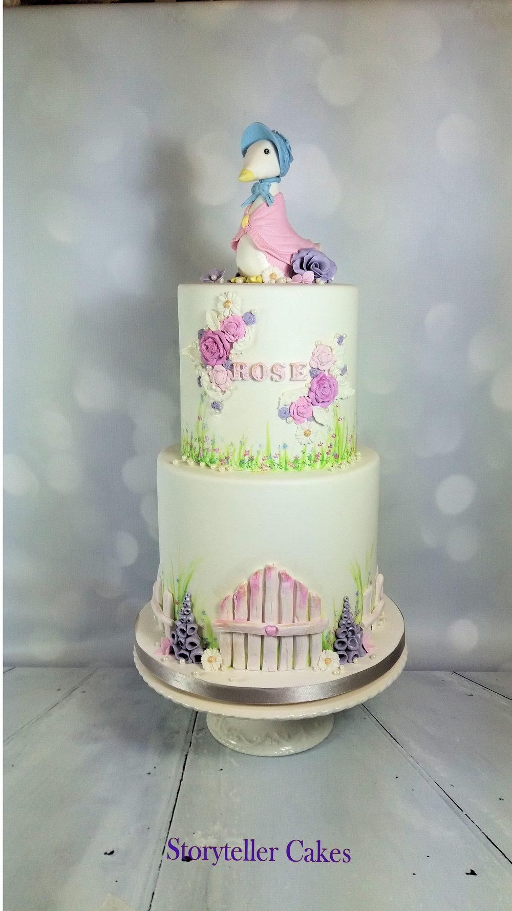 Jemima Puddle Duck Beatrix potter peter rabbit cake 4.jpg