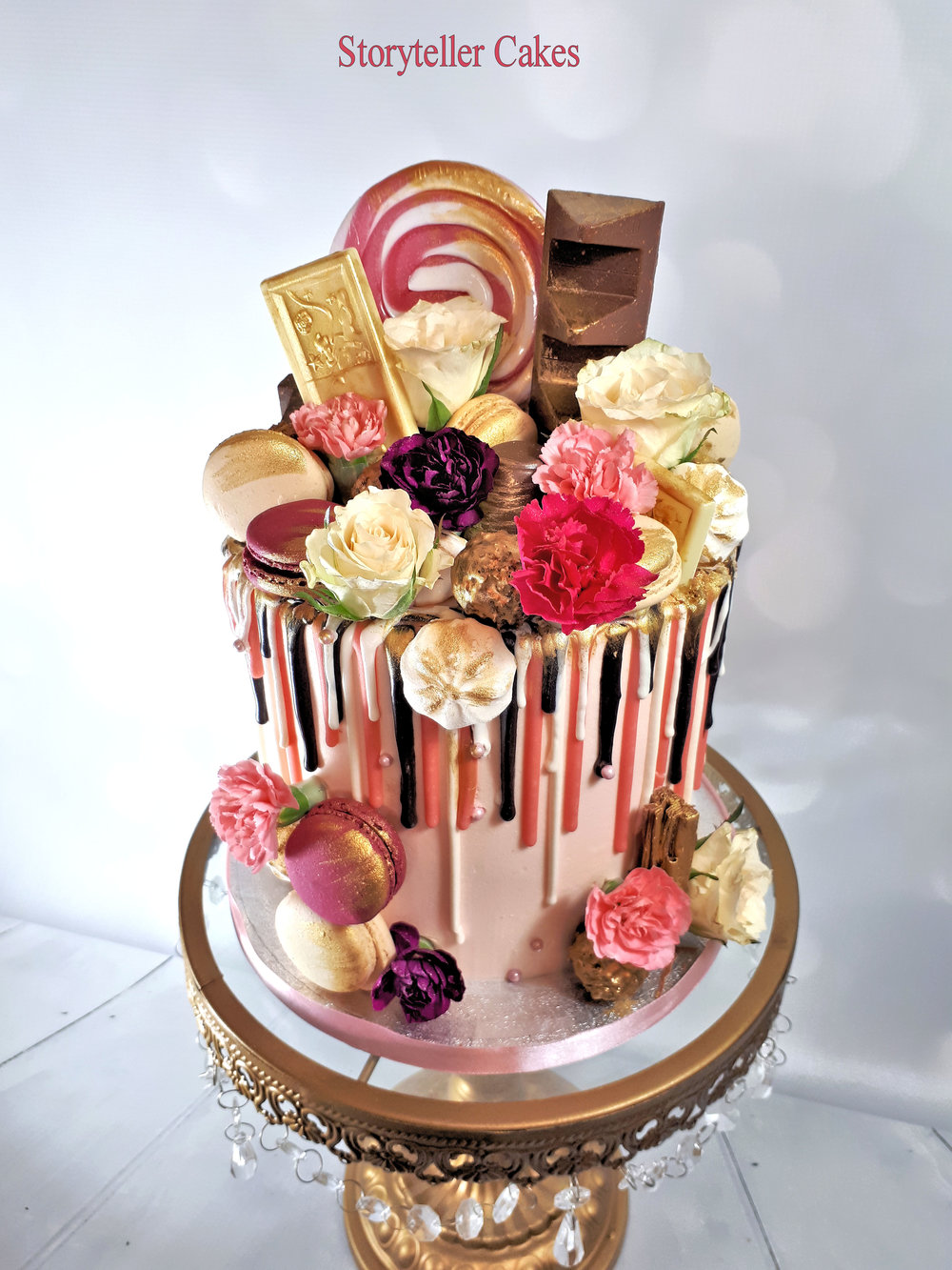 pink and gold drippy birthday cake2.jpg