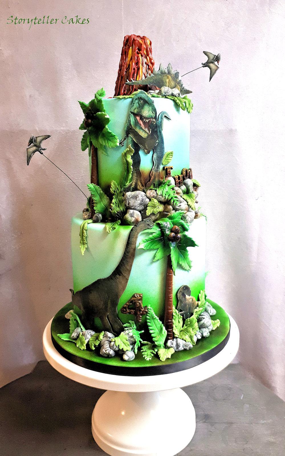 T-Rex Dinosaur Birthday Cake.jpg