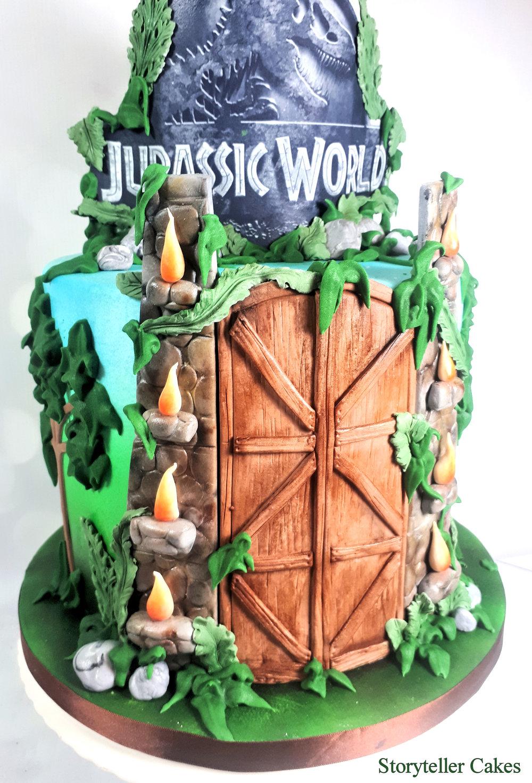 Jurassic World Cake3.jpg