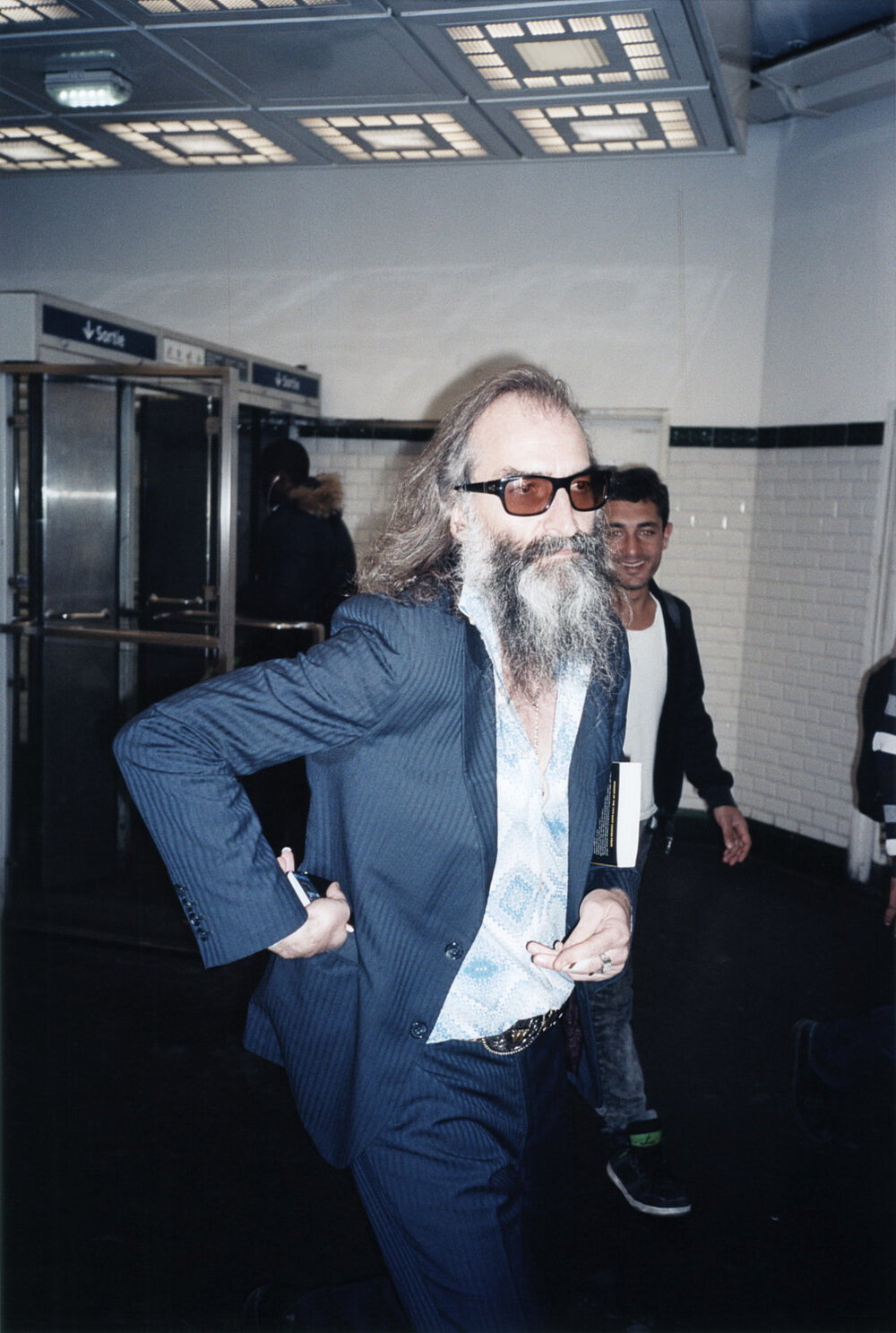 Warren Ellis by Jonas Unger