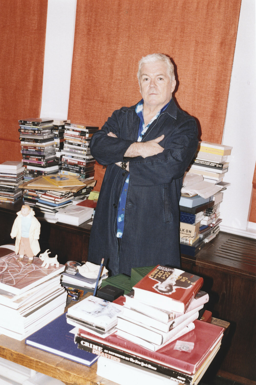 Tim Blanks by Lorenzo Dalbosco