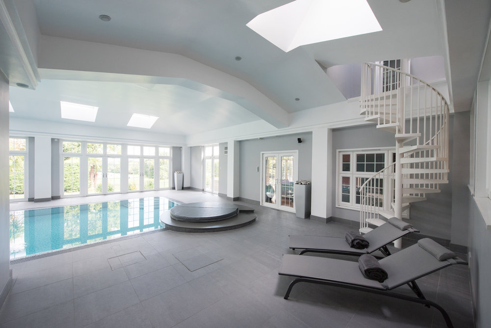 Painting - From specialist paint for swimming pools to bespoke coloured and textured paints, we use quality materials relevant to each project.