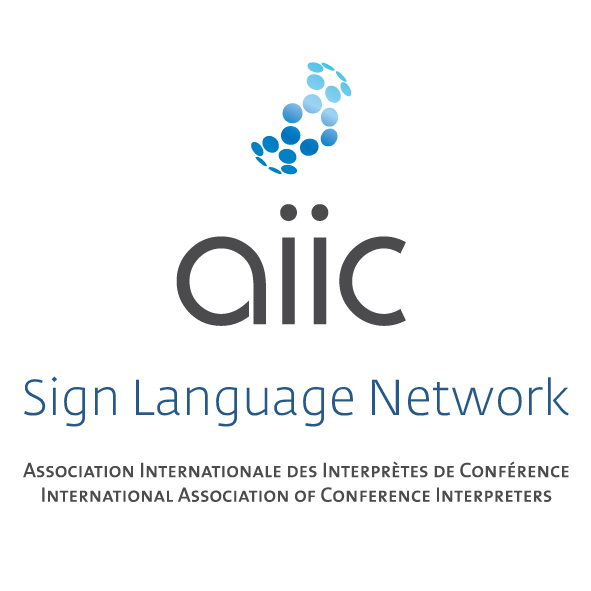 Providing conference sign language interpreters information on how to join AIIC