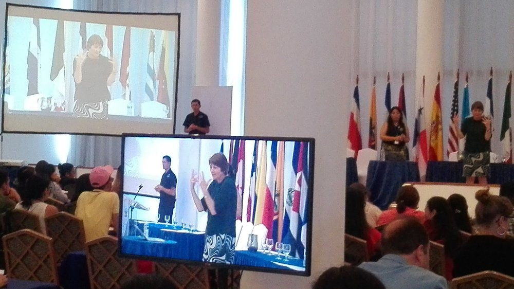 Sign language interpreters from Latin America meet in Panama - Read it here...