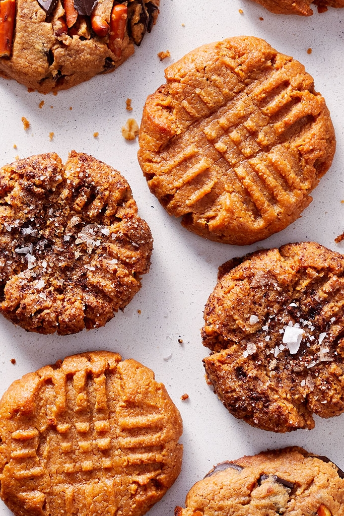 One Bowl Peanut Butter Cookies