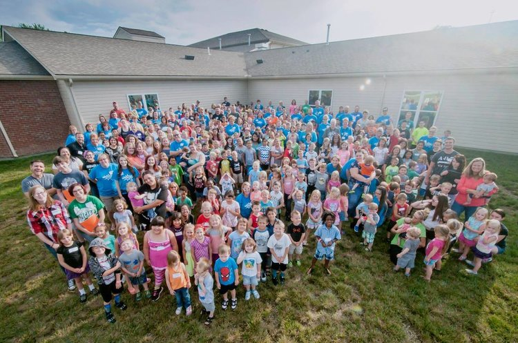 300+ Kids... - ...participated in our EPIC VBS in July.