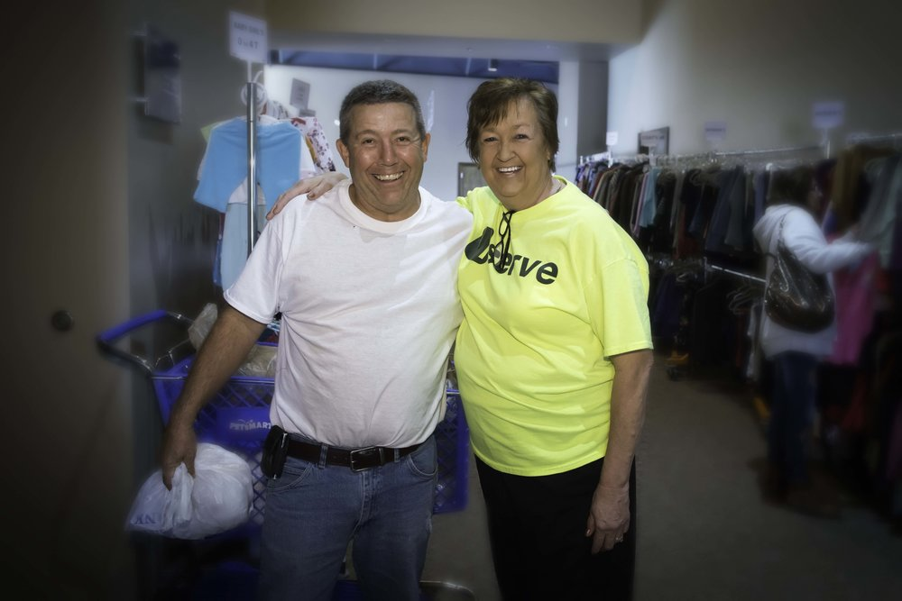 19,530 Piecesof Clothing... - ...given away through our Clothing Closet ministry this year.