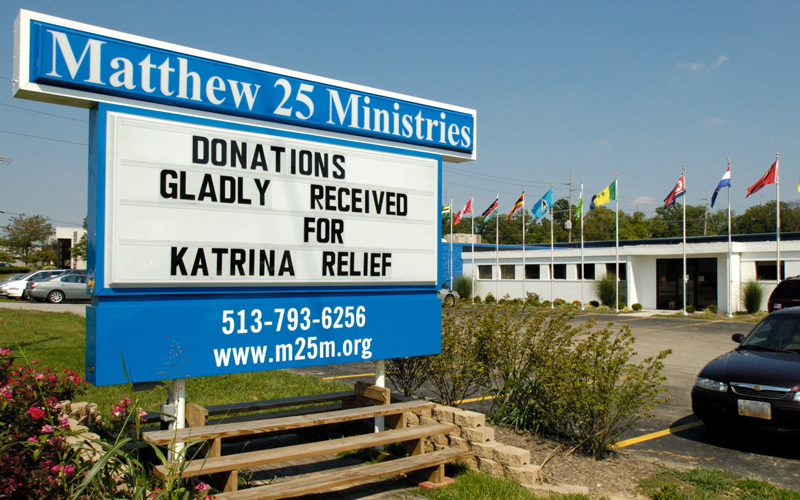 Medway Serve Day - Matthew 25 Ministries